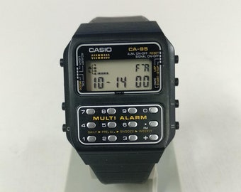 Casio CA-95 Calculator Watch Multi Alarm Module 166 NOS