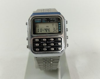 Casio CA-951 Calculator  Watch Module 166 Multi Alarm