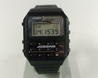 Casio J-100 Jogging Calculator Watch Module 183