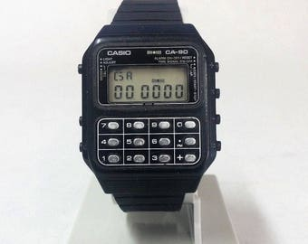 Casio CA-90 Calculator Watch  Module 134 Game Watch Space Invaders
