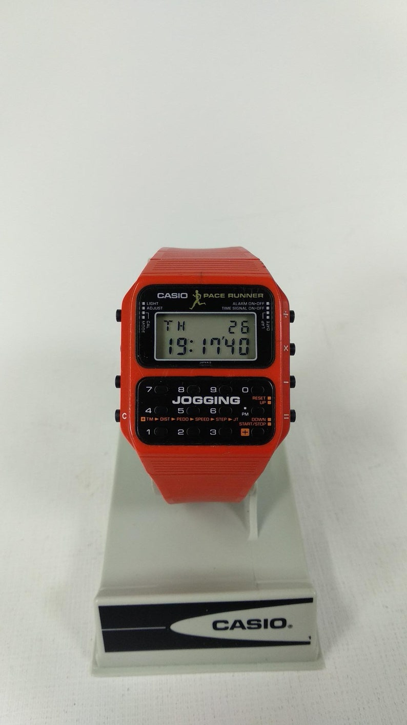 Timebandits retro digital calculator watch dcal14r.