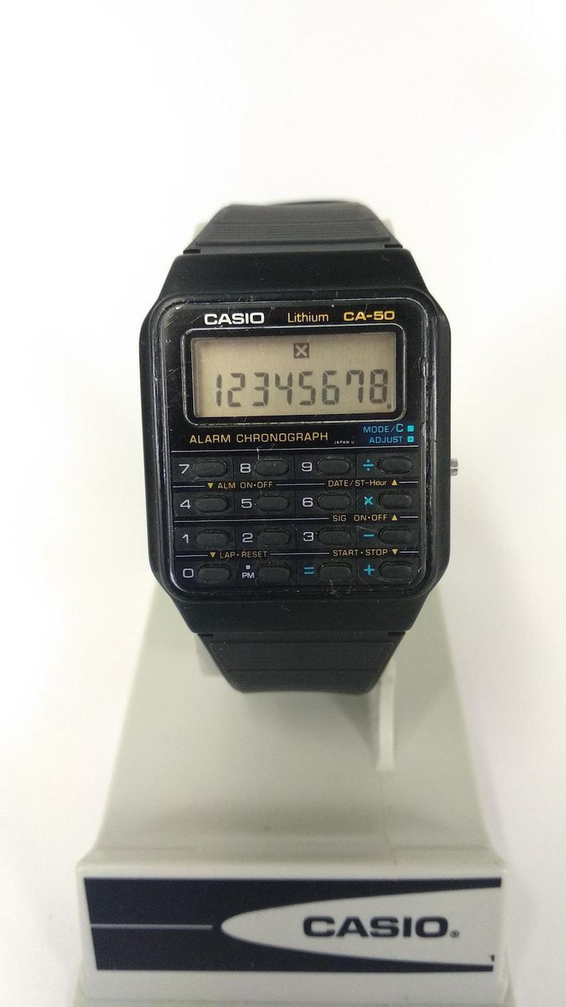 Ca Vers Montre 50 Casio Module Futuretsy 437 De Le Calculatrice WD9YEHI2