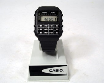 Casio C-80  Module 133 Calculator  Watch