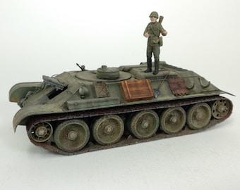 Built 1/35 T-34 ARV