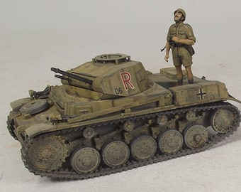 1/35 Built Panzer II Africa Korps