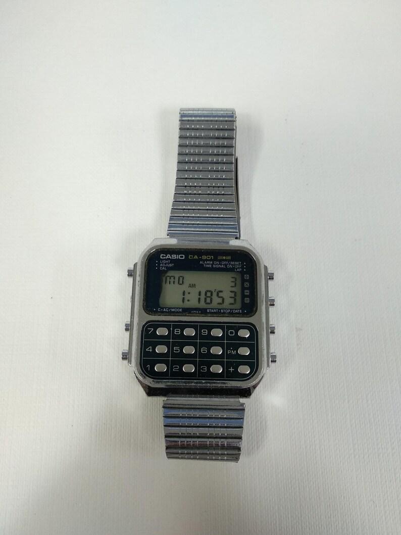 Module Calculatrice Ca De Jeu Casio Blue Montre 901 134 Version mn0w8OvN