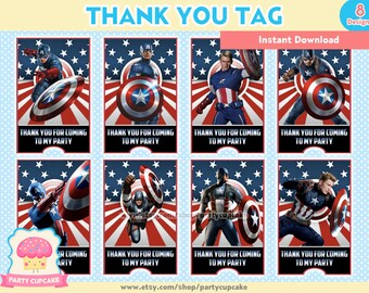 Captain Thank You Etsy