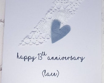 13th Anniversary Etsy