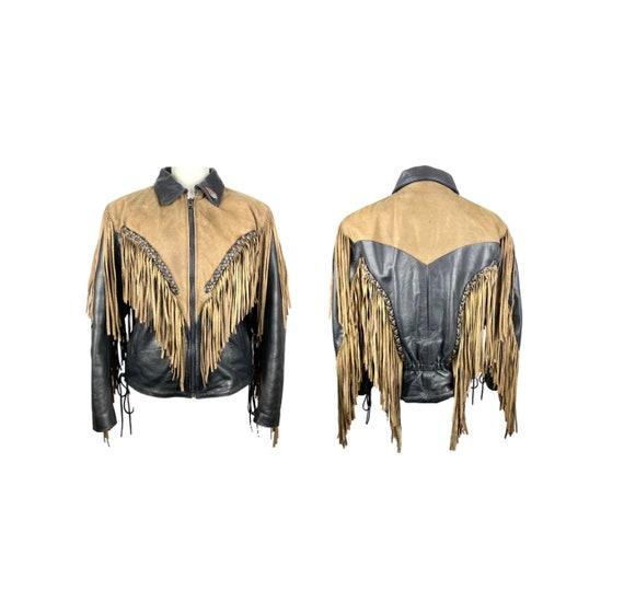 Fringed Jacket, 80's | Vintage Clothing, Leather G