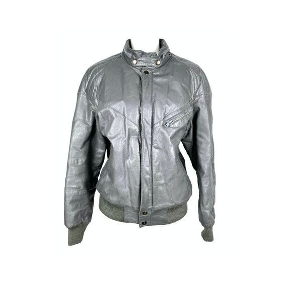 Vintage Leather Jacket | Leather Bomber Jacket, Me