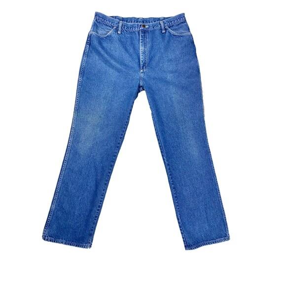 70's Maverick Jeans | Vintage High Rise Blue Jeans - image 2