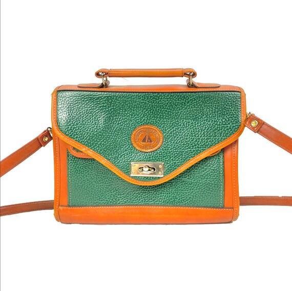 Vintage Satchel | Leather Bag, Vintage, Lebong, Br