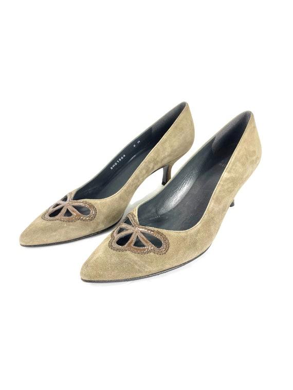90's Stuart Weitzman Heels | Vintage Short Heels |