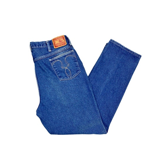 70's Maverick Jeans | Vintage High Rise Blue Jeans - image 1