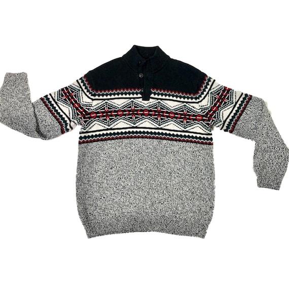 90 Southwest Sweater | Vintage Western Knit Sweate