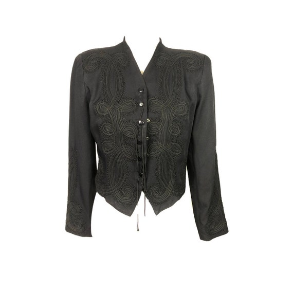 80's Western Blouse | Vintage Western Crop Jacket