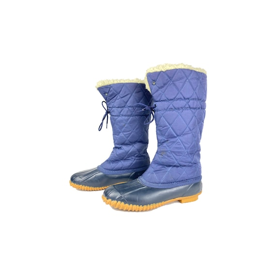 Vintage Rain Boots | 70's Snow Boots, Tall Duck Bo