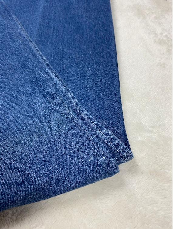70's Maverick Jeans | Vintage High Rise Blue Jeans - image 4