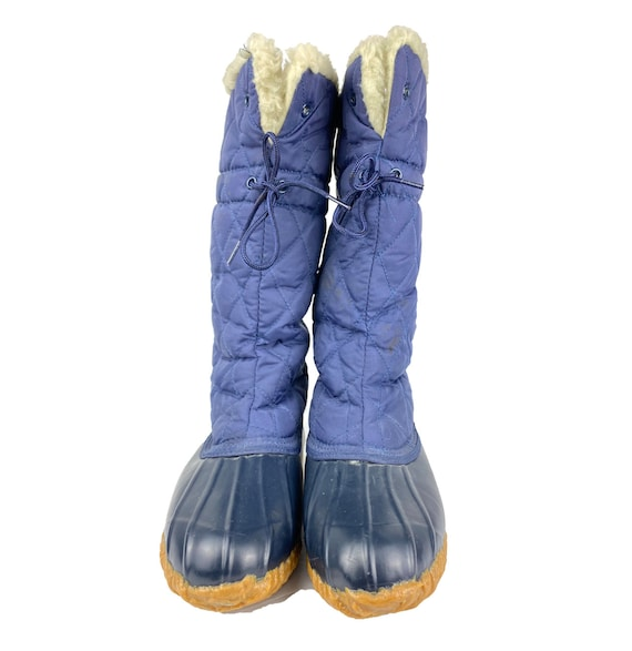 80/'s Weather BootsVintage Snow BootsSporto Tall Shearling Lined Duck BootsRain BootsWeather BootsSize 8 Weather Boots