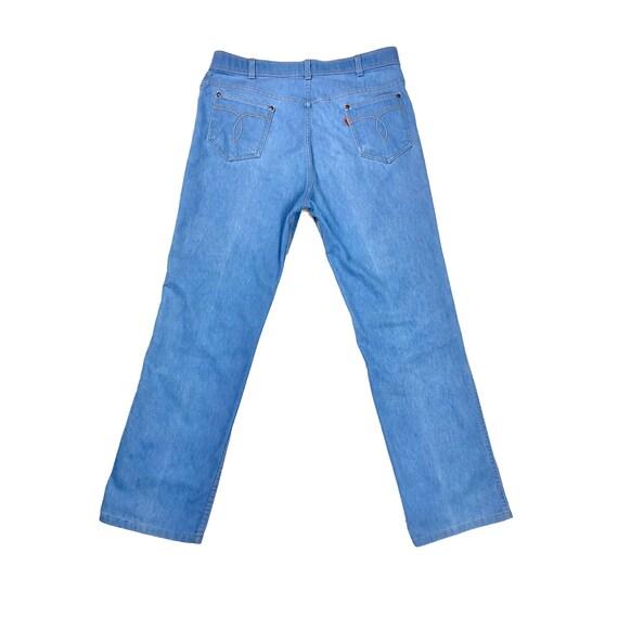70's Orange Tab Levi's   Vintage High Rise Blue J… - image 3