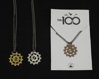 Two Day Sale - Lexa Cosplay Headpiece Necklace - The 100 CW