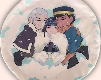 Snowy Kamui Plush Pillow Case