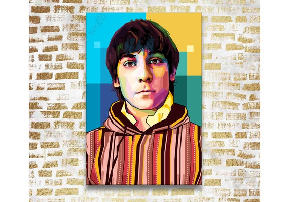 AMAZING KEITH MOON THE WHO MOD POP ART CANVAS QUALITY ARTWORK WALL ART PICTURE