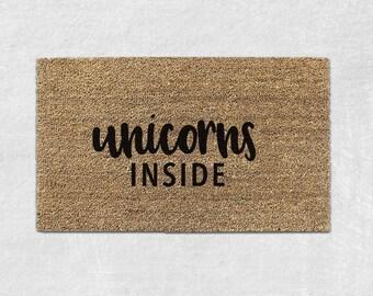 Unicorn Rug Etsy