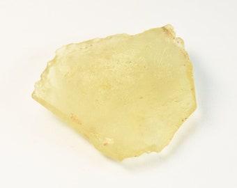 AA Quality Libyan Desert Glass Specimen Gemstone Tektite Mineral Meteorite Glass Yellow Glass Natural Glass Lechatelierite Fused Quartz