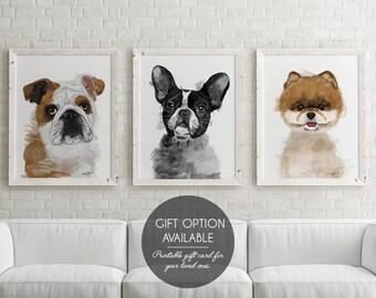 Custom Dog Portrait, Custom Pet Portrait, Custom Dog Painting, Custom Portrait, Pet Portrait Custom, Dog Memorial, Dog Lovers Gift,
