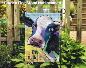 "Welcome to the Farm House Flag Farm Primitive Cow Barn Animals 28/"" x 40/"""