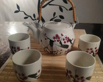 Vintage Cameron And Sons LTD Japanese Tea Set