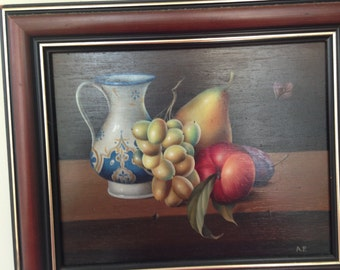 original oil painting - still life