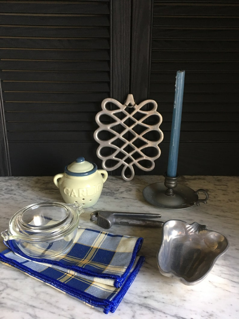 Italian Inspired Cooking Collection  Vintage Kitchen Gift Bundle