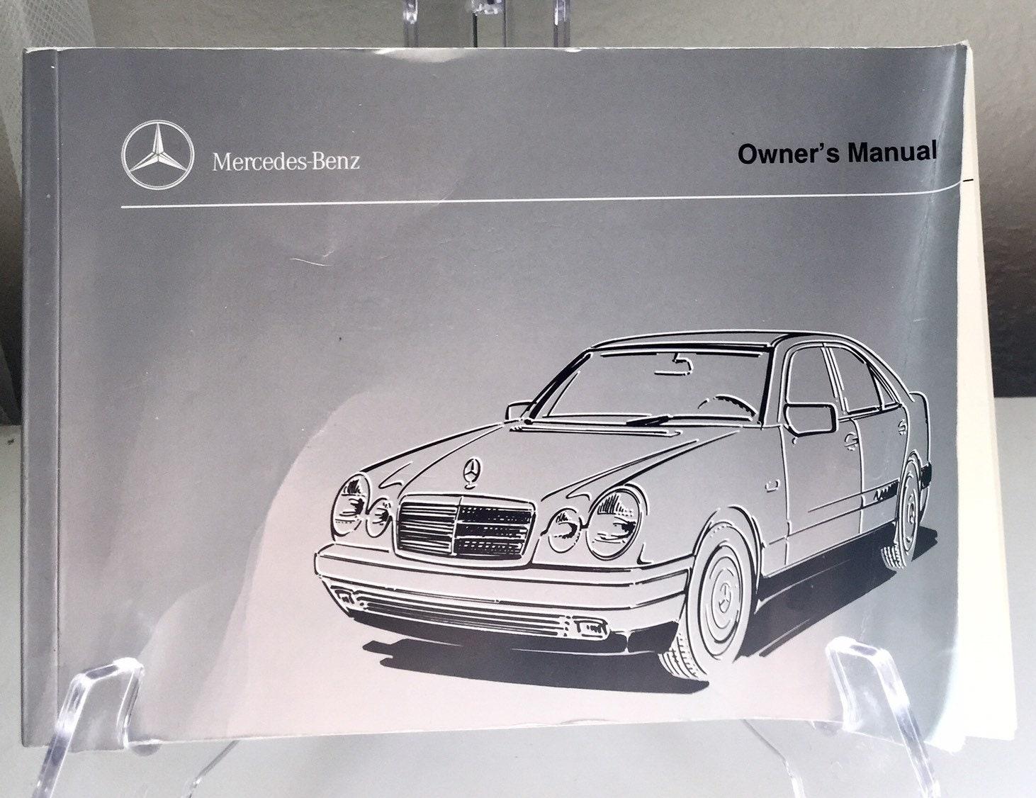1997 mercedes e class models operator owner manual e300d e320 e420 rh  modmodstudio com 1989 Mercedes-Benz E 320 1997 Mercedes-Benz a Class