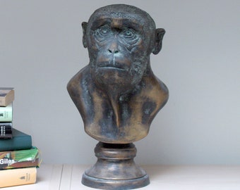 Animal-bust Monkey Caesar