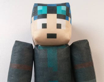 51f129adcc1d TheDiamondMinecart Minecraft DanTDM Plush Toy