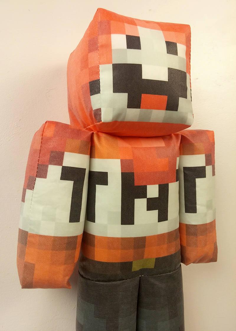 ExplodingTNT Minecraft Plush Toy | Etsy
