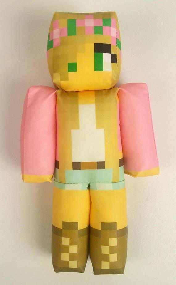 Little kelly minecraft plush toy etsy image 0 publicscrutiny Gallery