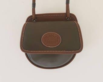 781b91100 Esprit Vintage Crossbody Bag• Vintage Handbag• PU Leather bag • Festival  Crossbody Bag • Brown crossbody bag • Small women's crossbody