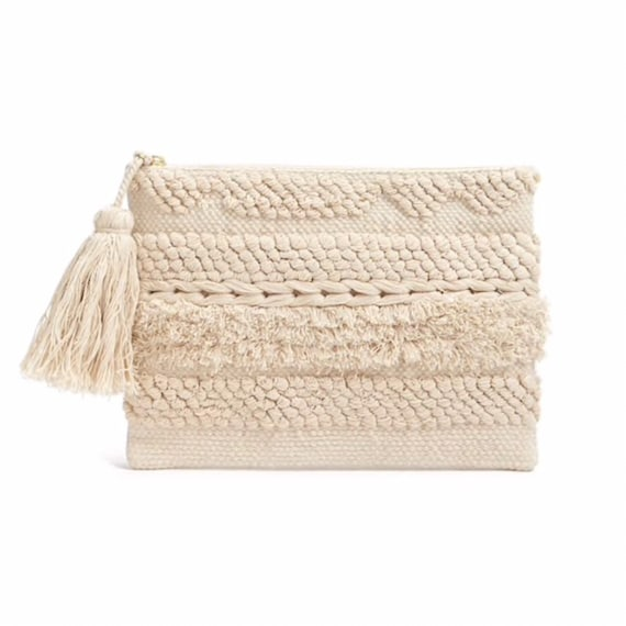 Willow Macrame Clutch