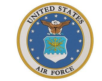 bebd0e05aae United States Air Force Emblem- Digital Embroidery Design - 3.5x3.5