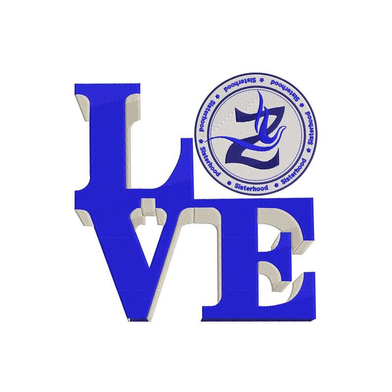 and 14x14 4x4 10x10 3x3 8x8 12x12 6x6 Blue Love Square Digital Machine Embroidery Design