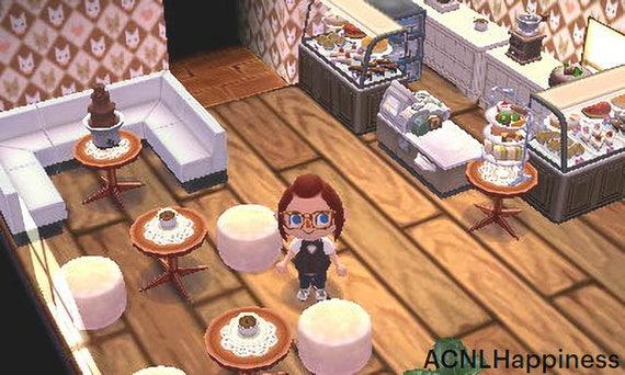Animal Crossing New Leaf Cafe Etsy