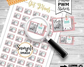 Planning Stickers, Planner Accessories, Planner Printable Stickers, Planner Stickers