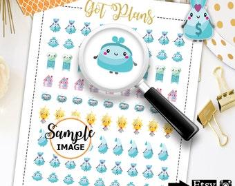Bill Planner Stickers, Bill Stickers, Bill Due Stickers for Planners, Printable Stickers, Planning Stickers