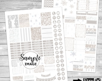 Weekly Planner Sticker Kit, Printable Planner Kit, Printable Planner Stickers, Planner Decor, Stickers For Planning, Printable Stickers