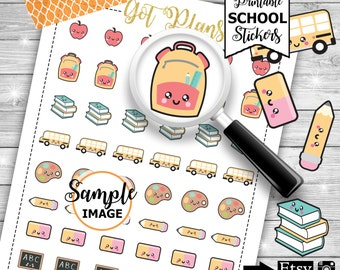 School Planner Stickers, Printable Planner Stickers, School Stickers, Decorating Stickers, Planner Decor, Stickers For Planning