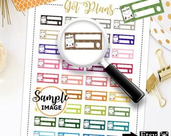 Bill Planner Stickers, Bill Stickers, Kawaii Planner Stickers, Bill Due Stickers, Planner Printable Stickers