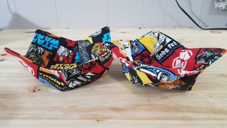 Darth Vader heat resistant potholders insulated bowl holders,Star Wars Microwave bowl holders